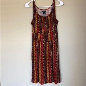 Lucky Brand Tribal Pattern Dress